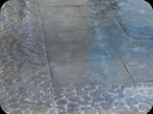 Bordure galets de rivière