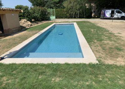 Réalisation d'une piscine en maçonnerie dans l'ain